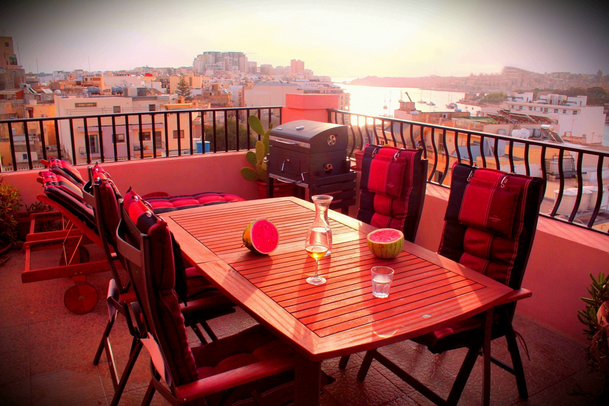 Penthouse 2 Schlafzimmer - Apartment Malta
